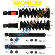 Monroe Quick Struts Front And Rear Shocks For 1996 - 2002 Toyota 4runner 4wd