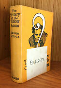 1909 Gaston Leroux The Mystery Of The Yellow Room First Book Edition File Copy