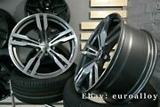 New 4x 20 Inch 648 Style 5x120 Grey Polished Wheels For Bmw 5 Gt 7 F01 F02 F03