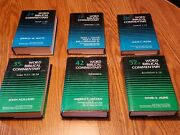 Word Biblical Commentary 6 Volumes 24,26,28,35b,42,52b Hardcover Book Lot