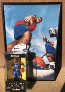Signed Autograph Talking Lil Penny Doll Figure Anfernee Hardaway Poster Orlando