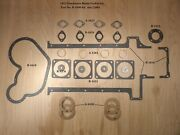 1913 Henderson Motorcycle Motor Gasket Set - Antique Reproduction