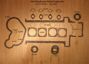 1916 Henderson Motorcycle Motor Gasket Set - Antique Reproduction