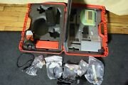 Leica Grz4 Prism External Radio Tcps26b And Data Collector Rcs1100 Total Station