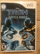 Tron Evolution Battle Grids - Nintendo Wii 2010 - Complete And Tested