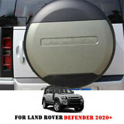 1 Pcs Fits For Lr Defender 2020+ Abs Pangea Green Spare Tyre Tire Wheel Cover
