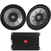 Jbl Stage 3001 Subwoofer Amplifier, 1 Pair Qty 2 Of 12 Car Audio Subwoofers