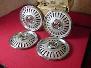 Nos 1965 Chevy Chevelle Malibu Hubcap Wheel Cover Set Of Four 3860209
