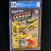 Brave And The Bold 29 Dc 1960 💥 Cgc 7.0 💥 2nd App Of Justice League Comic