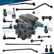 For 2003 2004 2005 2006 Jeep Wrangler 15pc Gearbox Tierods Sway Bar Ball Joints