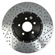 Brake Rotor - Eradispeed + - Front - Directional / Drilled / Slotted - 15.000 In