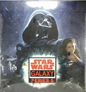 Star Wars Galaxy Series 5 Hobby Box Topps Trading Cards Factory Sealed Last One