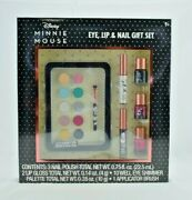Centric Beauty - Disney Minnie Mouse - Eye Lip And Nail 7 Pcs Gift Set - New