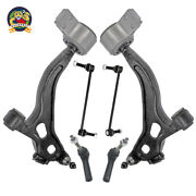 Fits 10-12 Taurus Flex 2 Control Arm With Bushings And Ball Joint Tie Rods 6 Pcs