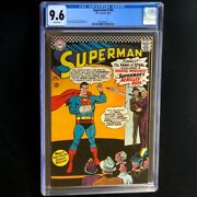 Superman 185 Dc 1966 💥 Cgc 9.6 💥 Highest Graded - 1 Of 5 Silver Age Comic