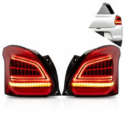 Vland Redandsmoked Led Sequential Taillight Assembly For Rain Swallow 20172021