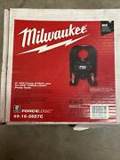 """Milwaukee 2"""" Pex Crimp Jaw For M18 Force Logic Press Tool 49-16-2657c New In Bx"""