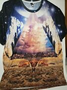 Imagination Foundation Tee Shirt Power To The Imagination Lg Pre-owned