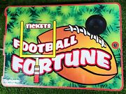 Football Fortune Arcade Game Door With Speaker And Entropy Ticket Dispenser