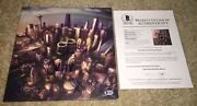 Foo Fighters Full Band Signed Sonic Highways Album Vinyl Dave Grohl +4 Beckett