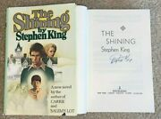 Stephen King Signed The Shining Hardcover Book It Carrie Rare