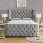 Kasanov Chesterfield Buttoned Luxury Bed Double King Size Superking
