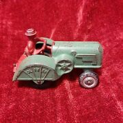 Antique 1938 Hubley Oliver Cast Iron Toy Tractor 70 All Original