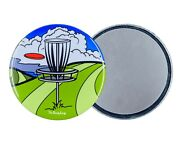 Psychedelic Disc Golf Magnet Outdoor Sports Gifts And Collectible Kitchen Decor