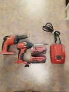 Hilti Drywall Screwdriver And Impact Set