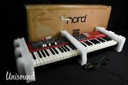 Nord Electro 5d Semi Weighted Waterfall Synthesizer In Excellent Condition