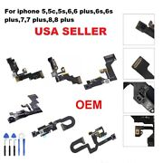 Lot Of Oem Front Face Camera Proximity Light Sensor Flex Cable For All Iphone