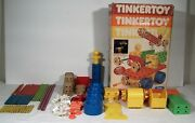 Tinker Toys Motor Classic Building Toy Wooden Wood Child Guidance 90+ Piece Lot