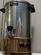 Tricolator Tg-24 8-24 Cups Electric Coffee Percolator Maker Stainless/copper