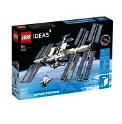Lego Ideas International Space Station Iss 21321 Brand New Sealed Ships Now