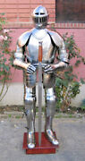 Armor Vintage Wearable Knight Crusader Full Armor Suit Armor Costume