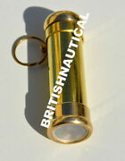 Arts Lot Of 50 Pieces Vintage 2 Brass Key Chain Kaleidoscope With Finishing