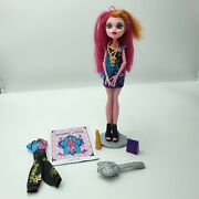 Monster High Doll Gigi Grant Freaky Field Trip Mattel W/ Accessories 13 Wishes