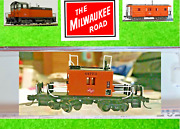 Milwaukee Road, Fox Valley Fvm 91154 N Scale, N Transfer Cab Caboose Road 01773