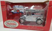 2000 Ertl 1913 True Value 1/43 Scale Model T And 1/25 Scale Model T Die-cast