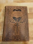 Beautiful Ultra Rare 1895 Avon Edition Last Of The Mohicans Book