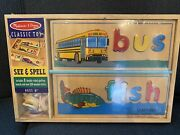 New Melissa And Doug - See And Spell Multi Learning Toys - Preschool Boys And Girls