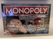 New And Sealed 2020 Monopoly For Sore Losers Game - Free Shipping