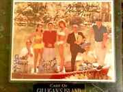 Gilligans Island 8x10 Autographed Photo Signed By 5- Denver Wells Louise Johnson