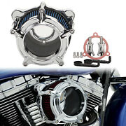 Motorcycle Air Intake Filter For Harley Electra Road Glide Dyna Fxdls Softail