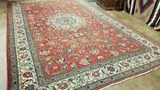 10and039x15and039 Antique C1920 Hand-knotted Pers. Kurdish Tabrizi Tribal Fine Wool Rug