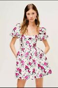 For Love And Lemons Bobbie Rose White Party Dress [retail Price 252]