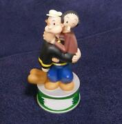 Popeye And Olive Interior Piggy Bank Not For Sale Rare