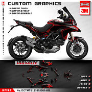 Kungfu Graphics Sticker Decal For Multistrada 1200 2010 2011 2012 2013 2014 2015