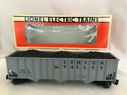 Lionel 1992 Lehigh Valle Hopper With Coal Std O 17113 Mint
