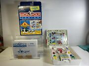 Vintage 1994 Parker Brothers Monopoly Junior Travel Edition Completed Mint